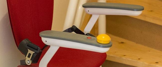 Tipos de sillas salvaescaleras y usos comunes